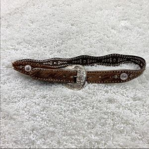 Nocona leather belt